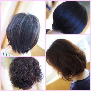 素髪ケアで改善しながらパーマ&カラー✨その後の変化は 吉と出た!?気になってた~Y子さん編(^^♪