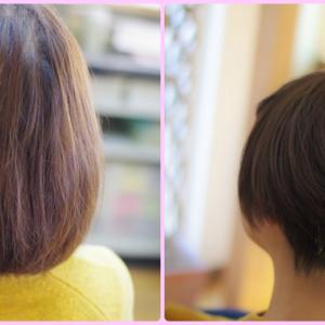 素髪ケアは 幸せを運ぶ🍀髪質改善と 匠のカットでハンサムショートiさん👍✨