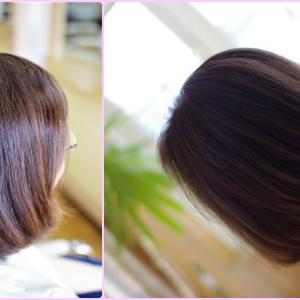 素髪ケアと 正しい美容室施術♪ 髪は こんなに美しく変わる Kさん👍✨
