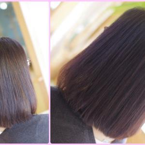 DO-Sリタッチカラーは 低アルカリ縮毛矯正と 美髪を育むには相性バツグン👍✨