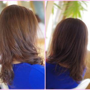 素髪ケア&バオバブのデジパー初体験のTさん♪運気もアゲて✨きれいが続くは 大人女子の流儀♪😊