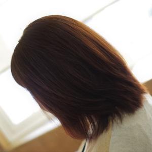 DOーS&ハナヘナで最高の美髪になったSさん👍✨きれいを続けるストパーは こうです❗️