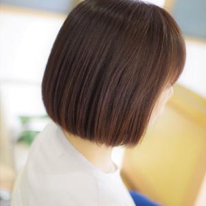 素髪ケアで おとなのヘアカラーは美しさが 増し増しでツヤツヤ👍✨Sさん編😊♪