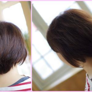 素髪ケアあれから…ふさふさ✨ふんわり〜♪髪を伸ばして 新しい魅力発見なMさん👍✨