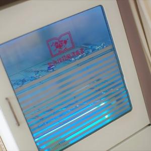 美容室ハサミと くしの殺菌・消毒は なんだこれ❓ミステリーな 青い光り✨
