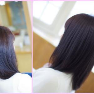 すっぴん髪進化論♪周りから ほめられるKさん👍✨プライスレスな 美髪の価値とは?