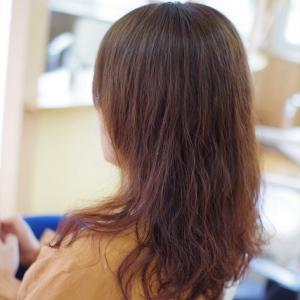 素髪ケア始めたら パーマの綺麗が続くようになったkさん👍✨祝・緊急事態宣言解除🎊