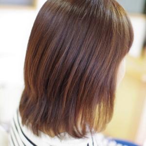 素髪ケアのちから❗️『やっと~バオバブに来れた~』😆よみがえる美髪👍✨Mさん編♪