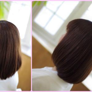 奇跡の美・素髪ボブ✨Kさんの自然すぎる矯正ストパーは❗️ツヤサラ✨だけに非ず👍✨