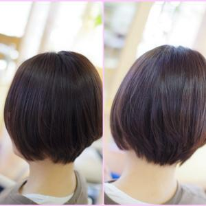 正しい素髪ケアと美容室の技術で✨ 髪は崩れにくくなる❗️Nさん、いらっしゃ~い(^^♪