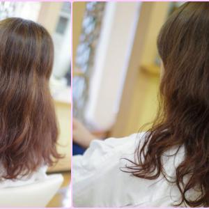 素髪ケア&バオバブでは 美容室の来店時が変わる❗️そして✨美しいが続くループへ👍✨Kさん編(^^♪