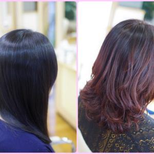 縮毛矯正は直線美✨パーマは曲線美✨ 老けて見えないポイントは・・・
