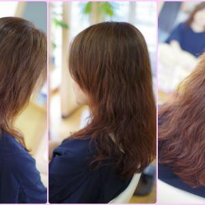 素髪ケア&バオバブのパーマは 一か月後のほうが~ うる✨ツヤって!Kさん編