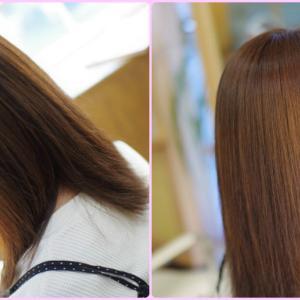 素髪ケア&バオバブ通いで『後天的クセ毛』を改善❗️愛されキャラに美髪が映える♪Mさん👍✨