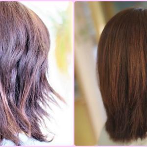 『素髪・すっぴん髪による改善♪』って…なんですか❓ダメージヘア改善?髪質改善?