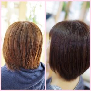 素髪縮毛矯正、半年以上もった〜😊♪なじみが良い地毛ふうストレートの理由は。。