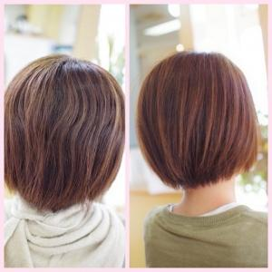 DOーS縮毛矯正の春♪Oさんの美✨素髪は『うらやましがられる地毛っぽさ♪』この春も🌸映えますね〜👍✨