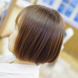 素髪ケア&バオバブ通いで、髪も○○も好転!!なんですかっ?このツヤ髪すぎるミニボブ👍✨