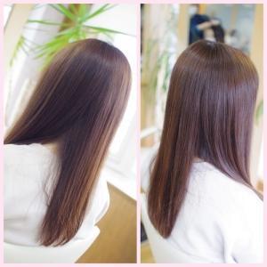 バオバブの縮毛矯正とリタッチカラーで✨綺麗が続くRさん👍✨ 髪へのムダとは?・・・