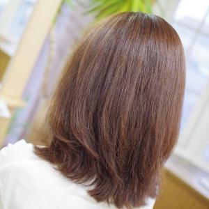 パーマが取れた後は 髪が傷んで大変😭💦…そうじゃない✨素髪女子の場合は❓