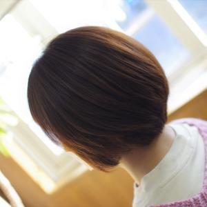ショートカットも色々♪バランスで変わる女性の魅力👍✨素髪ケアが効いてます😊♪