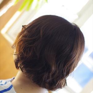パーマから4か月後の髪がツヤツヤでヤバい👍✨素髪ケア&バオバブ通い恐るべし😊♪