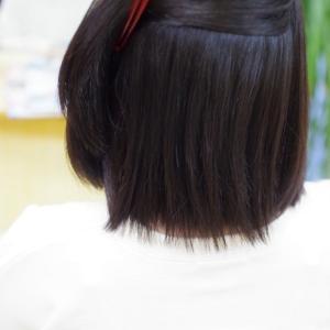 縮毛矯正は、簡単じゃないです!ストイックな仕事術です(;^_^A💦