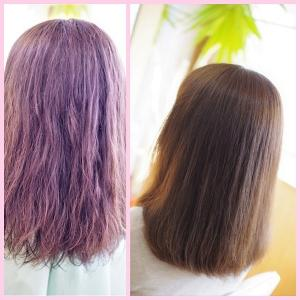 DO-Sケア続けて♪ダメージケア・縮毛矯正✨Fさん 美髪への道は、一歩ずつ。。