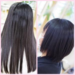 春夏のすっきりイメチェン♪素髪縮毛矯正&素髪ケアの、たまものですね👍✨