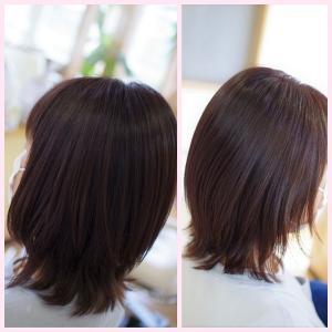 素髪ケア&バオバブでツヤ髪まつり状態♪本当のツヤ髪はこう!若かわいい✨エイジレス美髪👍✨