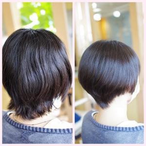素髪縮毛矯正・進化系✨うるツヤ美髪は、いそがしいママの味方でもある👍✨
