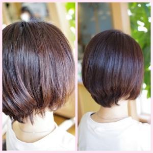 『美容室の 髪質改善が ぜんぶ効きません…😭💦』バオバブの素髪体験で✨まるで〜別人のような❗️ツヤサラ美髪に👍✨
