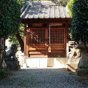 八王神神社(羽曳野市) ・竹内街道沿いに鎮座する樫山の神社