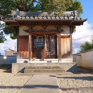 山本稲荷神社(大阪狭山市) ・西高野街道沿いの集落を見守る神社