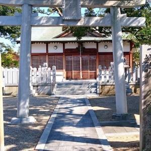 田坐神社(松原市) ・仁徳天皇所縁の地ともいわれる式内社