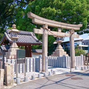阿麻美許曾神社(大阪市東住吉区) ・300年前の大工事で引き離された氏神