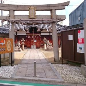 小山産土神社(藤井寺市) ・スサノオを祀る市内最古級の神社建築を残す神社