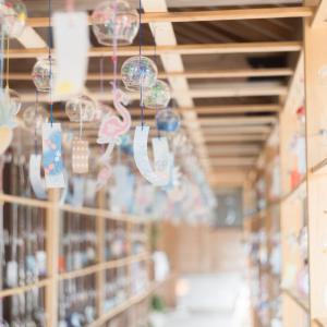 櫛田神社(富山県射水市)の風鈴通りが今年も美しいです。