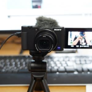 スチールカメラマン&写真講師がSONYのVLOGCAM・ZV-1を使ってみました【Imaging Edge Webcamも】