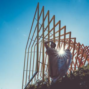 奥能登国際芸術祭の作品が残る珠洲市でポートレート撮影してきました