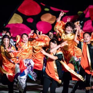 金沢港開港50周年を記念して行われている「光と踊りのスペシャルソーランナイト」を撮影してきました