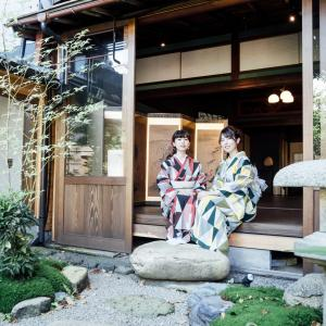 成人式や七五三などの撮影にぴったりな町家・IN KANAZAWA HOUSEさんで着物撮影会させていただきました。