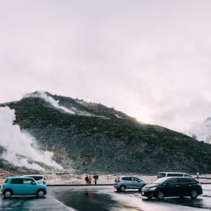 【釧路旅行記】2日目は細岡展望台、摩周湖、硫黄山、川湯温泉を訪れました [その3]