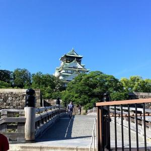 大阪城公園にもランナーの姿が増えてきた?