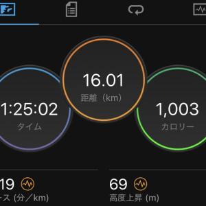 3ヶ月ぶりに1kmインターバル走をやってみた
