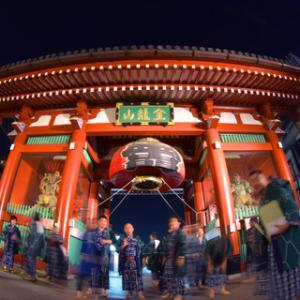 72.三社祭りの雷門