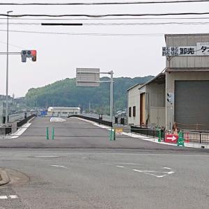 【道路開通】主要地方道美原太子線粟ヶ池バイパス(富田林市) ・橋を含む約400mが開通間近