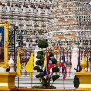 タイ・バンコク市内の3つの寺院を半日で廻る弾丸観光はあり?