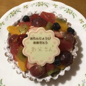 誕生日のお祝い・・・