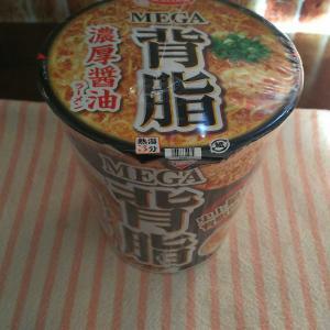 MEGA 背脂濃厚醤油ラーメン